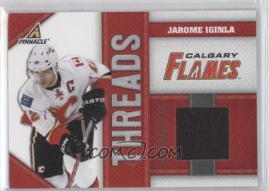 2010-11 Panini Pinnacle Threads #JI - Jarome Iginla /499