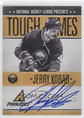 2010-11 Panini Pinnacle Tough Times Autographs [Autographed] #JK - Jerry Korab /250