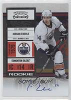 Rookie Ticket - Jordan Eberle
