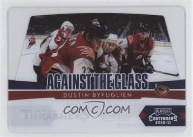 2010-11 Panini Playoff Contenders Against the Glass #12 - Dustin Byfuglien