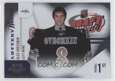 2010-11 Panini Playoff Contenders Lottery Winners #1 - Alex Ovechkin