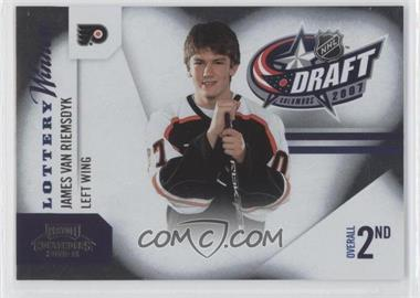 2010-11 Panini Playoff Contenders Lottery Winners #12 - James van Riemsdyk