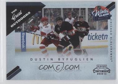2010-11 Panini Playoff Contenders The Great Outdoors #10 - Dustin Byfuglien