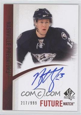 2010-11 SP Authentic #270 - Nick Spaling /999