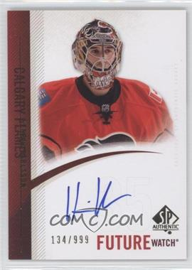 2010-11 SP Authentic #299 - Henrik Karlsson /999