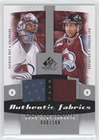 Patrick Roy, Ray Bourque /100