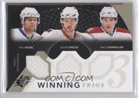 Phil Kessel, Jason Spezza, Mike Cammalleri