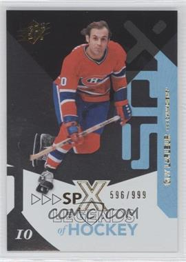 2010-11 SPx #109 - Guillaume Latendresse /999