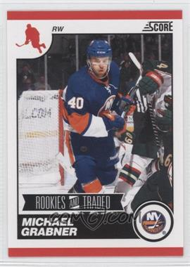 2010-11 Score Rookies & Traded #593 - Michael Grabner