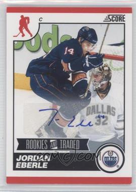2010-11 Score Signatures #566 - Jordan Eberle