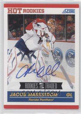 2010-11 Score Signatures #609 - Jacob Markstrom