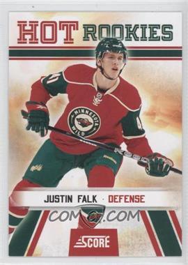 2010-11 Score #521 - Justin Falk