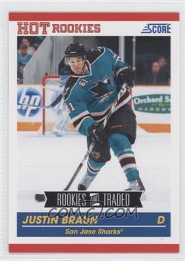 2010-11 Score #594 - Justin Braun