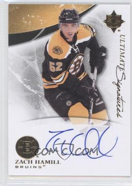 2010-11 Ultimate Collection - Ultimate Signatures #US-ZH - Zach Hamill