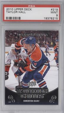 2010-11 Upper Deck - [Base] #219 - Taylor Hall [PSA 9]