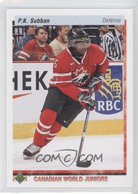 2010-11 Upper Deck 20th Anniversary Variation #548 - P.K. Subban