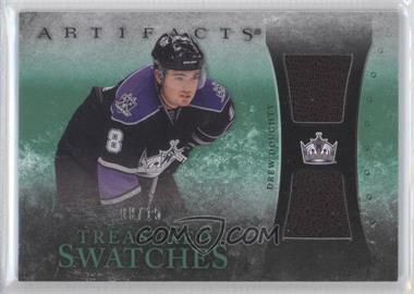 2010-11 Upper Deck Artifacts Treasured Swatches Dual Emerald #TS-DD - Drew Doughty /15