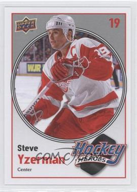 2010-11 Upper Deck Hockey Heroes #HH3 - Steve Yzerman