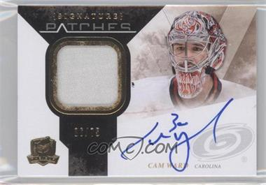 2010-11 Upper Deck The Cup - Signature Patches - [Autographed] #SP-CW - Cam Ward /75