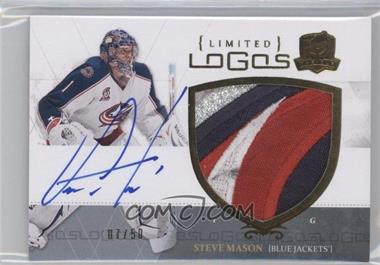 2010-11 Upper Deck The Cup Limited Logos Autographs [Autographed] #LL-SM - Steve Mason /50