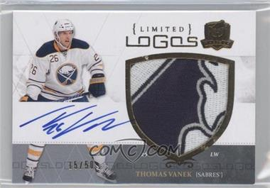 2010-11 Upper Deck The Cup Limited Logos Autographs [Autographed] #LL-TV - Thomas Vanek /50