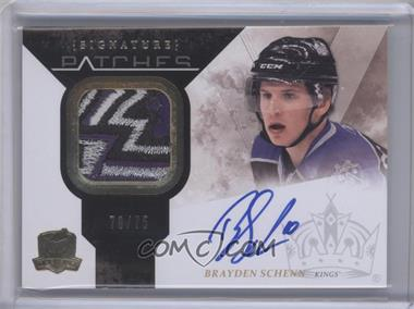 2010-11 Upper Deck The Cup Signature Patches [Autographed] #SP-BS - Brayden Schenn /75