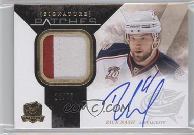 2010-11 Upper Deck The Cup Signature Patches [Autographed] #SP-RN - Rick Nash /75