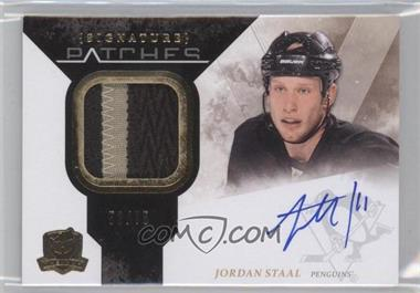 2010-11 Upper Deck The Cup Signature Patches [Autographed] #SP-ST - Jordan Staal /75