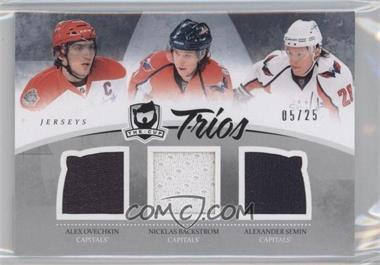 2010-11 Upper Deck The Cup Trios Jerseys #C3-WASH - Alex Ovechkin, Nicklas Backstrom, Alexander Semin /25