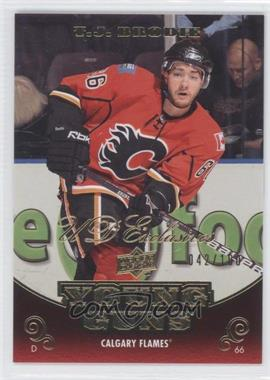 2010-11 Upper Deck UD Exclusives #210 - T.J. Brodie /100