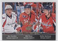Alex Ovechkin, Mike Green, Nicklas Backstrom /100
