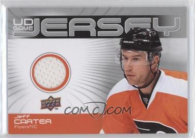 2010-11 Upper Deck UD Game Jersey #GJ-JC - Jeff Carter
