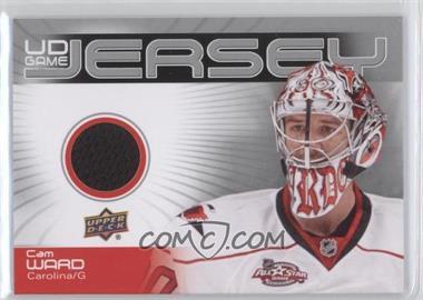 2010-11 Upper Deck UD Game Jersey #GJ2-CW - Cam Ward