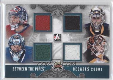 2011-12 In the Game Between the Pipes - Decades - Silver #D-12 - Carey Price, Ryan Miller, Roberto Luongo, Tim Thomas /50