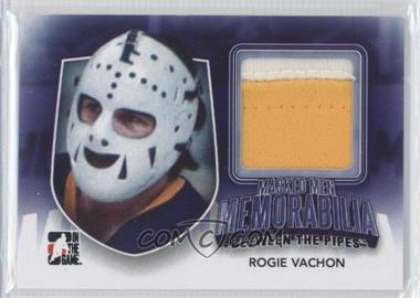 2011-12 In the Game Between the Pipes - Masked Men Memorabilia #MMM-43 - Rogie Vachon /10