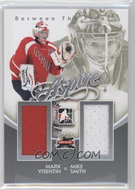 2011-12 In the Game Between the Pipes Aspire Silver #AS-18 - Mike Smith, Mark Visentin /140