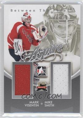 2011-12 In the Game Between the Pipes Aspire Silver #AS-18 - Mike Smith, Mark Visentin