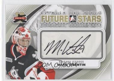 2011-12 In the Game Between the Pipes Authentic Goaliegraph #A-MVI - Mark Visentin