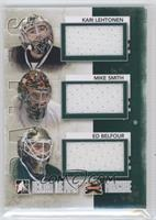 Kari Lehtonen, Mike Smith, Ed Belfour /50