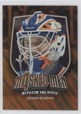 2011-12 In the Game Between the Pipes Masked Men 4 Gold #MM-15 - Devan Dubnyk