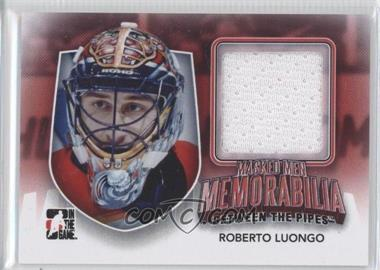 2011-12 In the Game Between the Pipes Masked Men Memorabilia #MMM-26 - Roberto Luongo /10