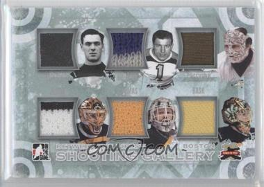 2011-12 In the Game Between the Pipes Shooting Gallery Silver #SG-05 - Tiny Thompson, Frank Brimsek, Gerry Cheevers, Andy Moog, Tim Thomas, Tuukka Rask /9