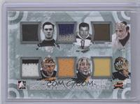 Tiny Thompson, Frank Brimsek, Gerry Cheevers, Andy Moog, Tim Thomas, Tuukka Rask