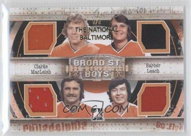 2011-12 In the Game Broad Street Boys Series Quad Memorabilia The National Baltimore #QM-05 - [Missing] /1
