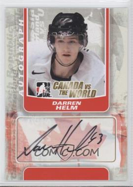 2011-12 In the Game Canada VS the World Autographs #A-DHE - Dany Heatley