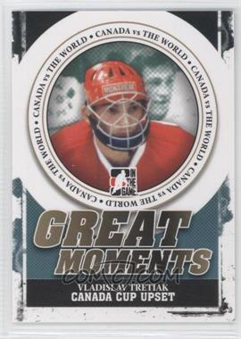 2011-12 In the Game Canada VS the World Great Moments #GM-05 - Vladislav Tretiak