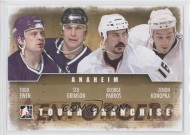 2011-12 In the Game Enforcers - [Base] #15 - Todd Ewen, Stu Grimson, George Parros, Zenon Konopka