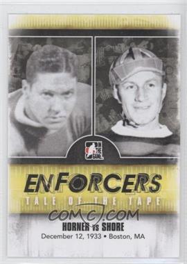 2011-12 In the Game Enforcers - [Base] #33 - Red Horner, Eddie Shore
