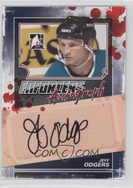 2011-12 In the Game Enforcers Autographs #A-JO - Jeff Odgers