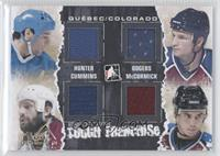 Dale Hunter, Jeff Odgers, Jim Cummins, Cody McCormick /1